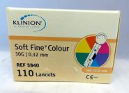 KLINION soft fine® colour 30G Lanzetten