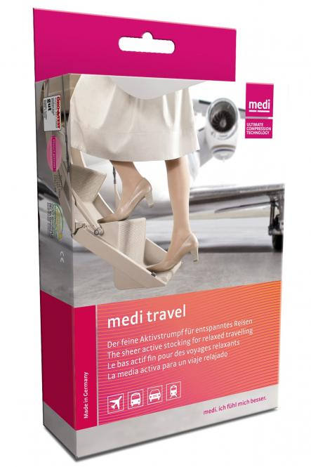 medi travel woman Reisestrümpfe